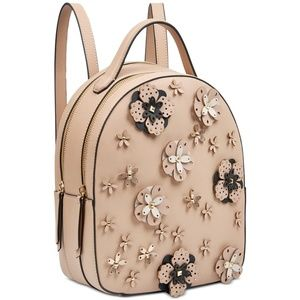 Nine West Women's 3D Floral Edyta Cute Backpack Ba